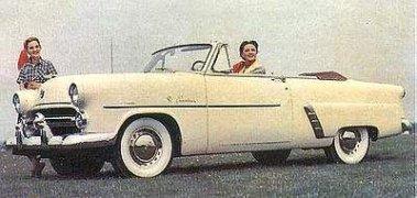 1952 Ford Crestline Sunliner Convertible for sale: Anamera